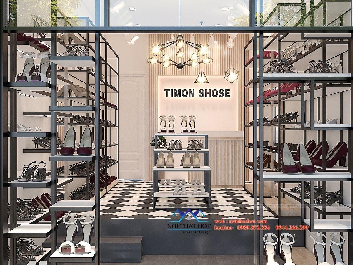 thiết kế shop giày dép timon 2