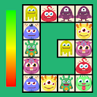 Connect: cute monsters and food