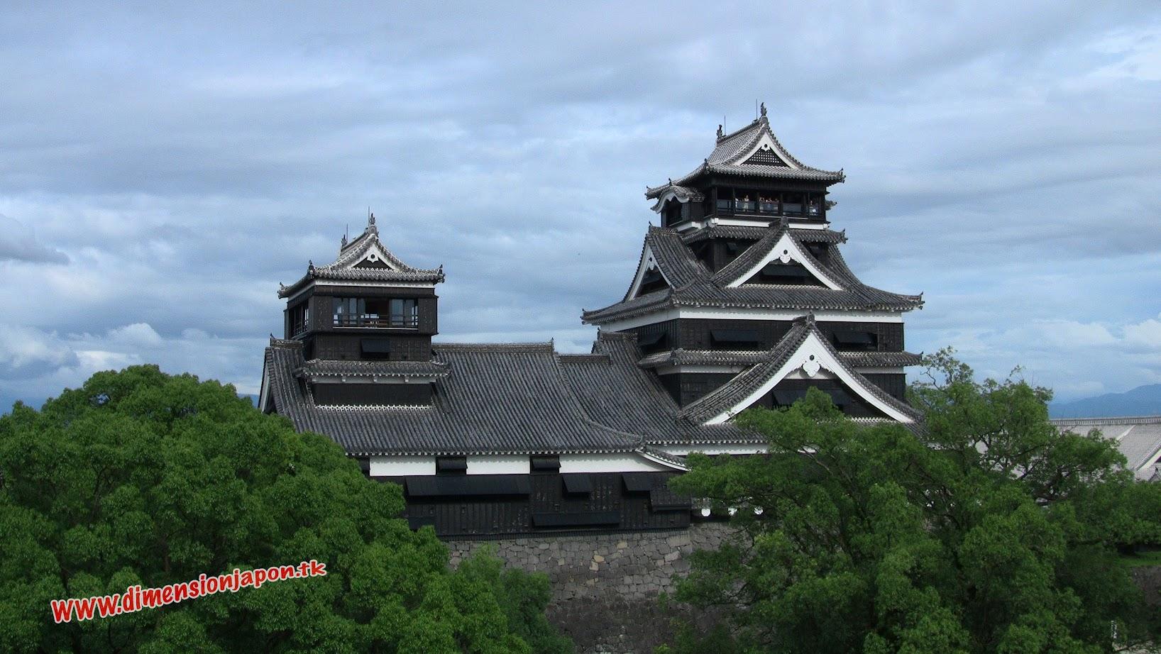 IMG_0577 Castillo de Kumamoto desde una de las torres (Kumamoto) 15-07-2010