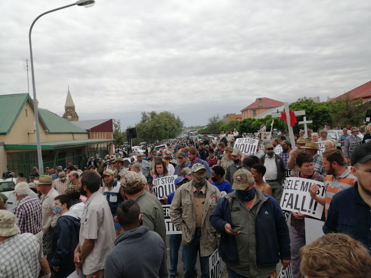 Community members have gathered in their numbers in Senekal in the Free State to demand justice for Brendin Horner.
