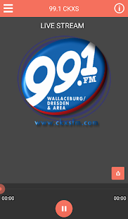 99.1 CKXS- screenshot thumbnail