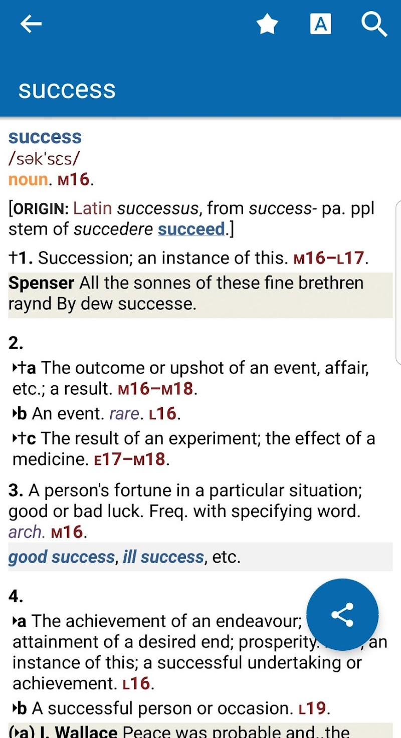 Oxford Shorter English Dictionary Screenshot 0
