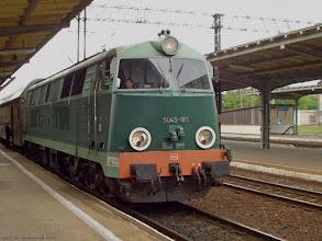 Photo: SU45-185, Toruń Główny - Sierpc {Toruń Wschodni; 2004-05-19}