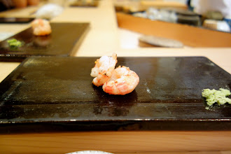 Photo: I believe these were sakura ebi, but I'm not too sure. Anyway, these had one of the most intense shrimp taste, that lingered on. Fantastic.