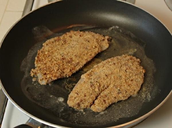 Pecan Crusted Fish (sallye) Recipe