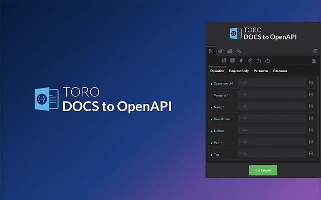 TORO Docs to OpenAPI