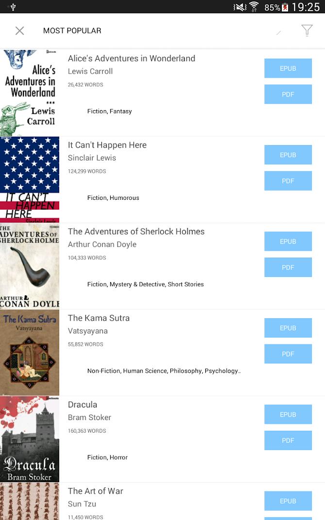 Bookari Ebook Reader Premium Android 24