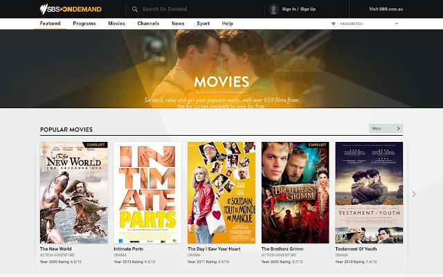 SBS Movie Ratings