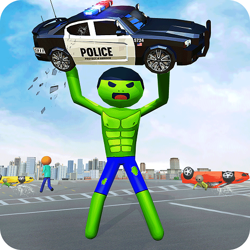 Stickman Incredible Monster Hero City Rampage