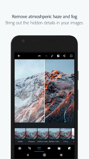 Adobe Photoshop Express:Photo Editor Collage Maker  screenshots 3