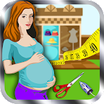 Princess Mommy Fashion Story Icon