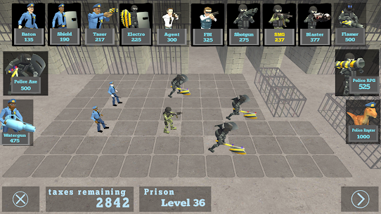 Battle Simulator: Prison & Police  Apk Download For Android and Iphone 2