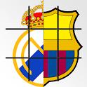 Derby Barca - Madrid - Tic Tac Toe icon