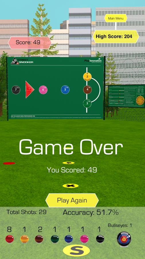 Street Snooker™- screenshot