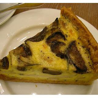Eggplant Quiche
