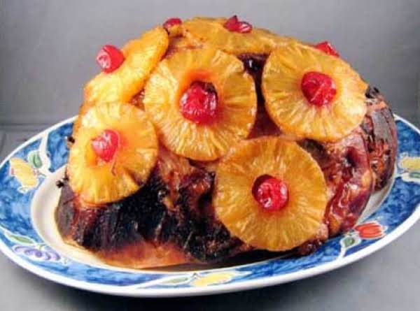 Hawaiian Style Pineapple-guava Glazed Ham Recipe
