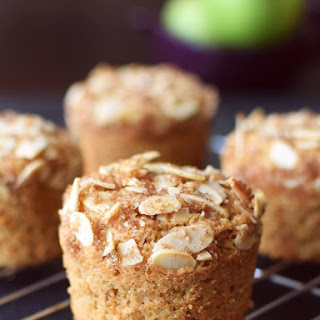 Apple Almond Crunch Muffins