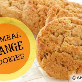 Oatmeal Orange Cookies (Diabetes Friendly).
