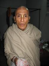 Photo: Sri Bandhusudha Das, a senior monk of Dhaka Mahaprakash Math