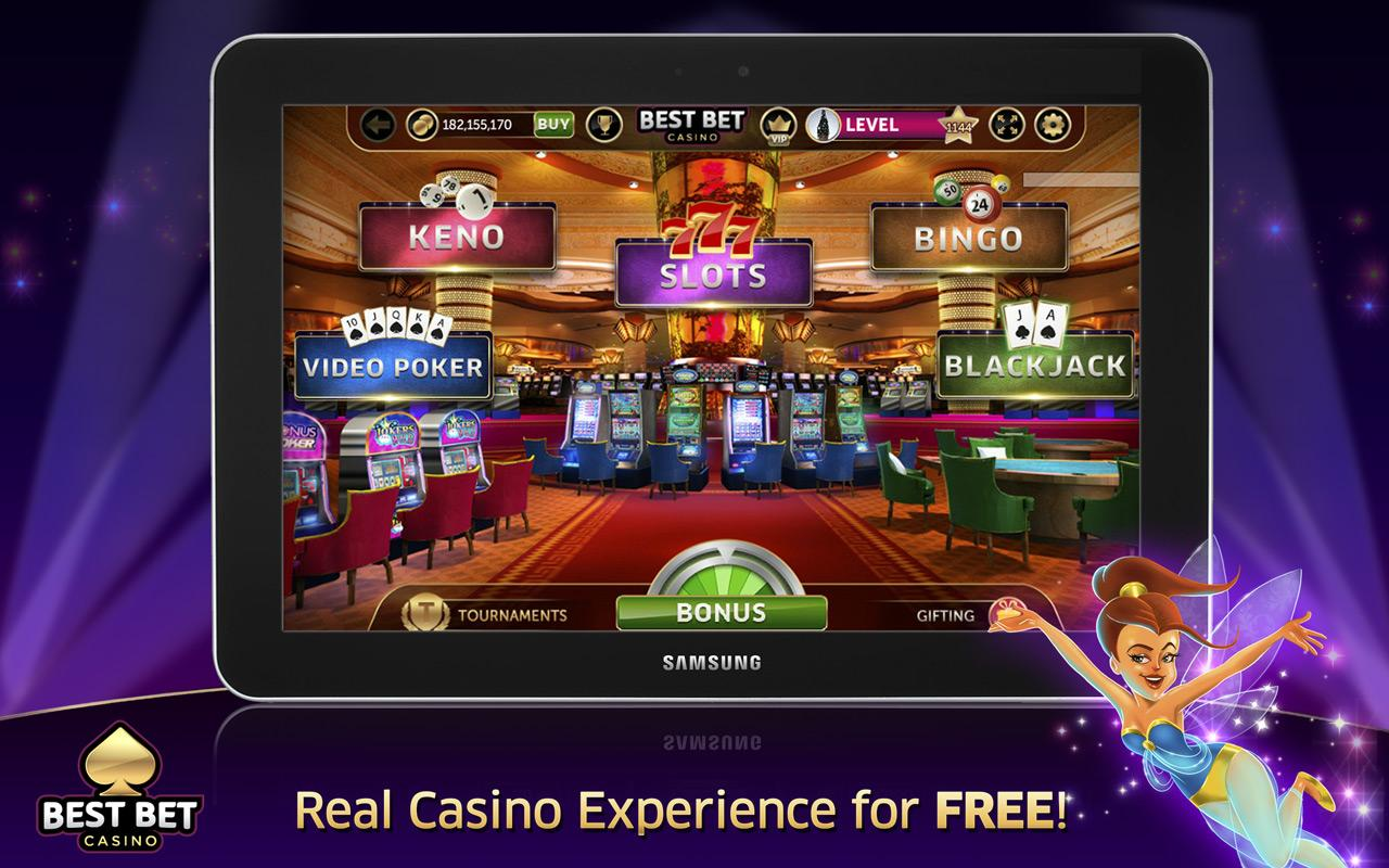 best bet casino free slots