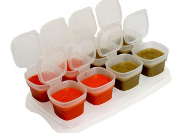 *Pour puree into individual serving containers. You may refrigerate for up to 4 days...