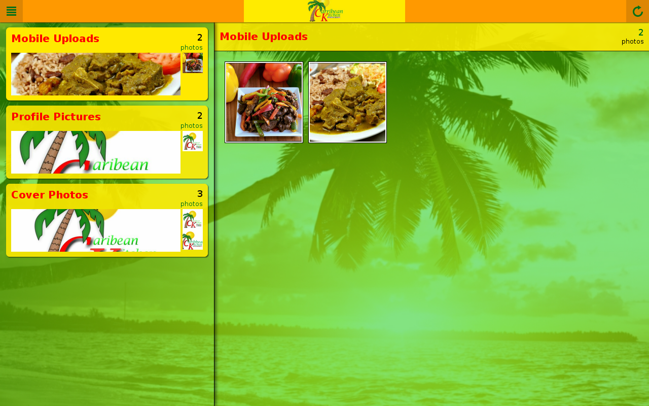 Caribbean Kitchen- screenshot