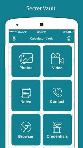Calculator - Vault For Hide Photo Video & App Lock 3.4 screenshots 2