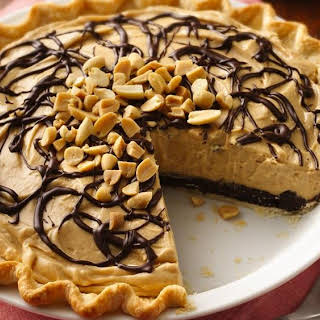 Chocolate-Peanut Butter Truffle Pie.