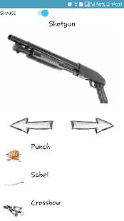 Zvukový generátor záběry zbran - náhled