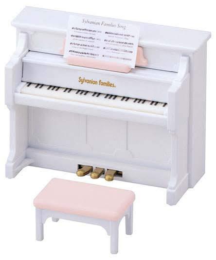 Contenido real de  Sylvanian Families 5029 Set Piano