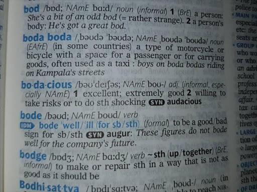 Boda boda' makes it to Oxford English Dictionary