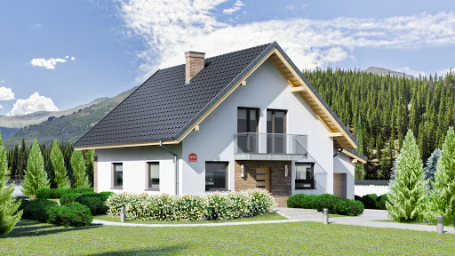 projekt Dom przy Oliwkowej 2 NH