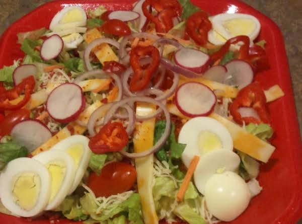 Dan's Amazing Birthday Salad Recipe