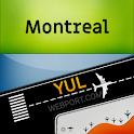 Montreal-Trudeau Airport (YUL) Info + Tracker icon