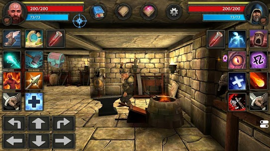 Moonshades Mod Apk – a dungeon crawler RPG game 2