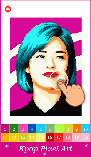 Pixel Art KPOP Color By Number 1.3 screenshots 2
