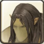 オーク男髪1
