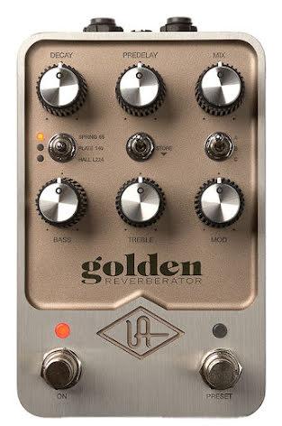 Universal Audio Golden Reverberator Pedal