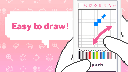 dotpict - Easy to Pixel Arts 3.7.2 androidtablet.us 2