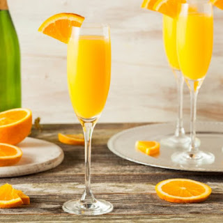 New Year's Day Mimosa.