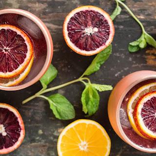 Blood Orange & Meyer Lemon Moscow Mule.