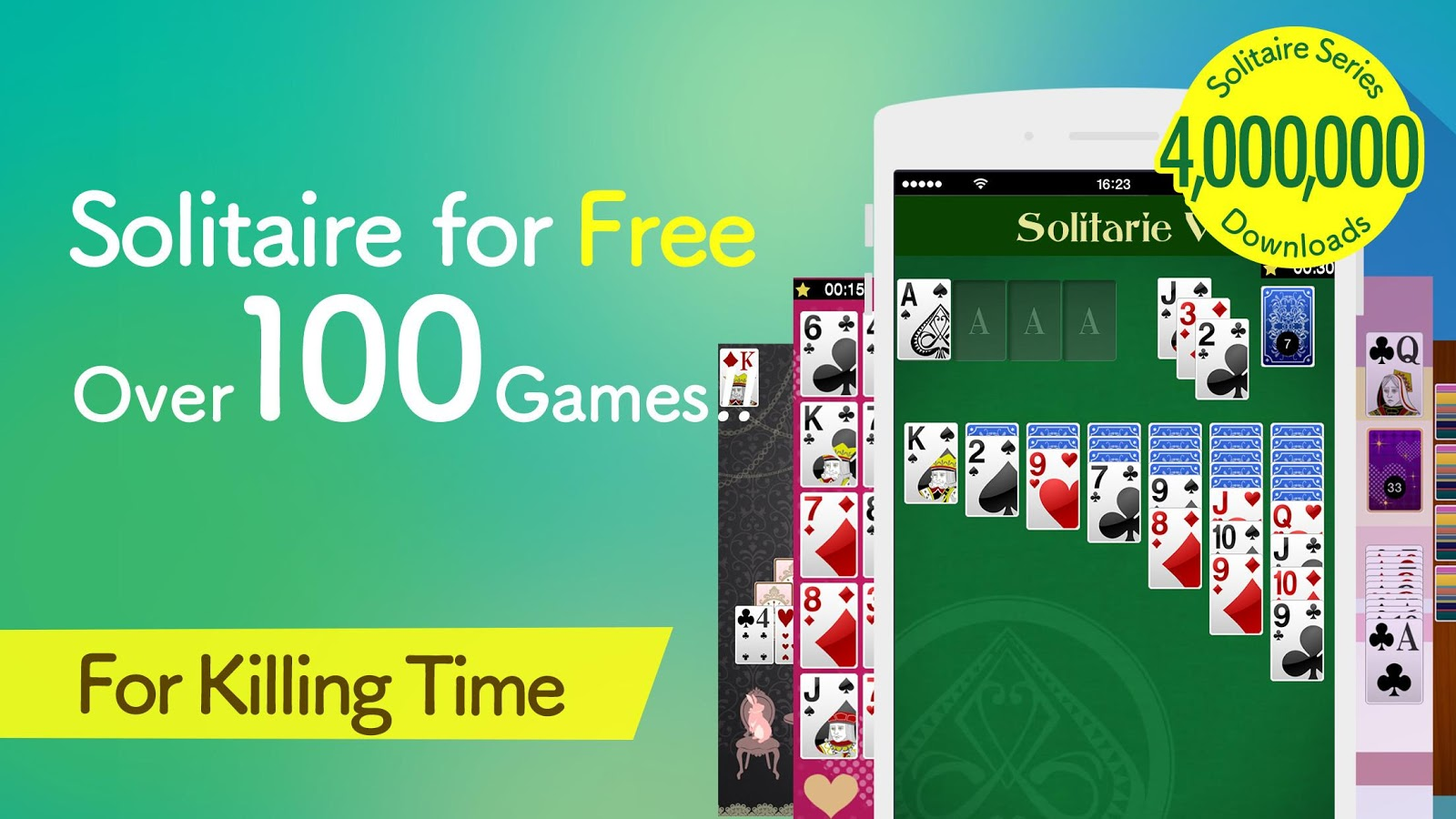Solitaire Victory - 100+ Games- screenshot