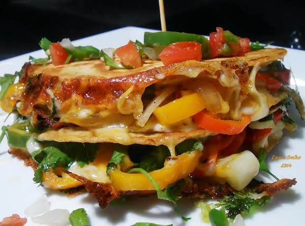 Low Carb Pepper Quesadilla Recipe