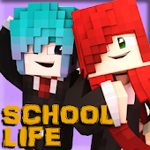 School Map For Craft Games Mod Android APK Download Free By Crafting And Building Mine A.Chv Stud