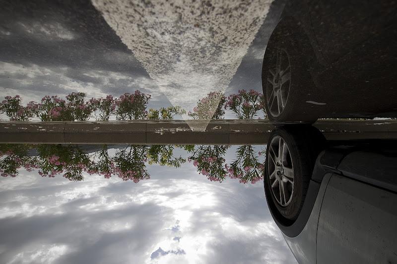 wet road di Sebastiano Pieri