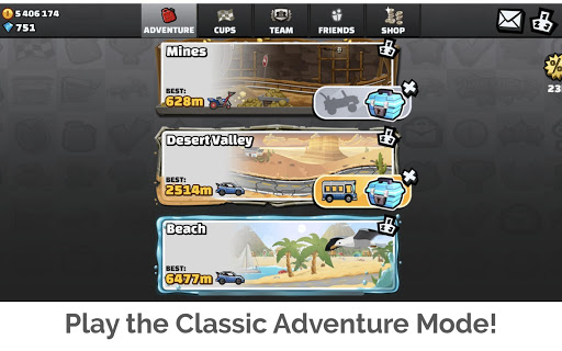 Hill Climb Racing 2 screenshots 12
