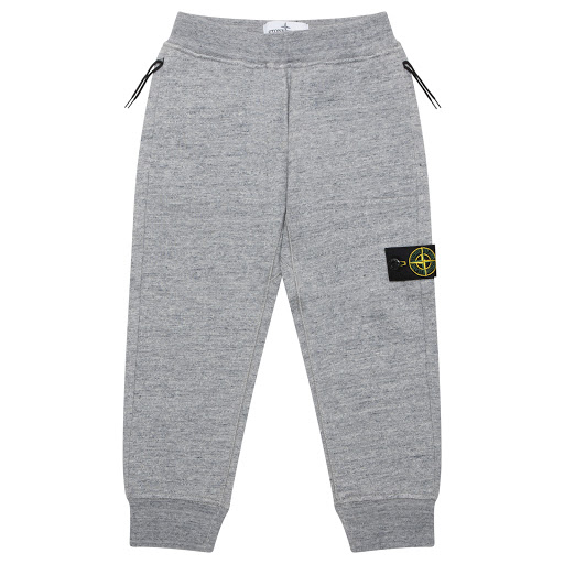 Primary image of Stone Island Junior Grey Cotton Joggers