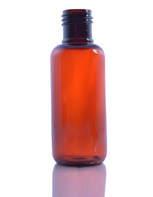 PET-flaska brun - 100 ml