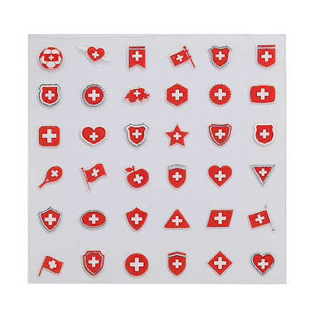 Nagelstickers Decorativa - Switzerland