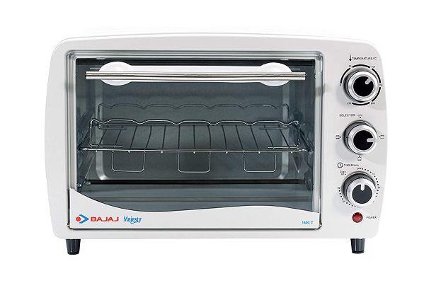 Bajaj Majesty 1603 T 16-Litre OTG Oven Under 5000 (3799/-)